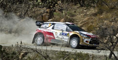 Citroën busca su primer podio en el Rally de México