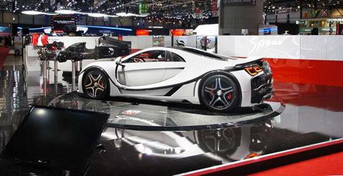 La nueva generación del GTA Spano en Ginebra