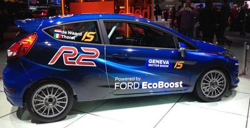 El Fiesta R2 1.0T EcoBoost se presenta en Ginebra