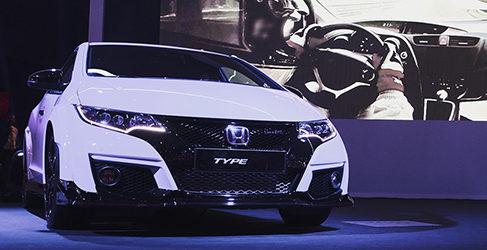 El nuevo Civic Type R entre las novedades de Honda