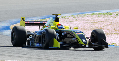 Tio Ellinas repite en el cierre del test en Jerez