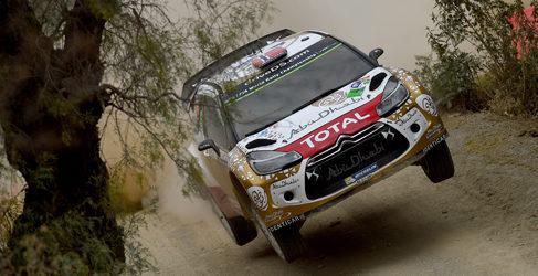 Los rivales regalan el Rally de México a Sebastien Ogier