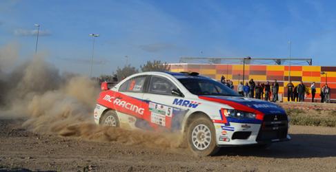El Rally de Tierra de Navarra tendrá tres tramos