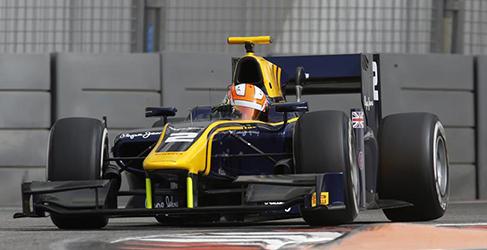 Alex Lynn lidera el segundo día del test GP2 en Yas Marina
