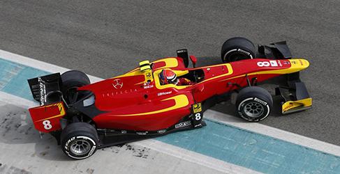 Racing Engineering satisfecho tras el primer test de GP2