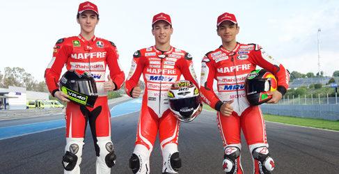 Mapfre Mahindra Team se presenta bajo el 'ovni' de Jerez