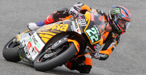 Sam Lowes y Jorge Navarro aprovechan el asfalto seco en Jerez