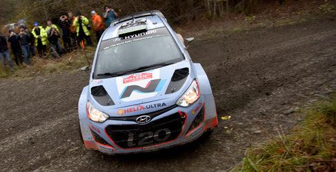 El primer Hyundai i20 WRC privado para Corrado Fontana