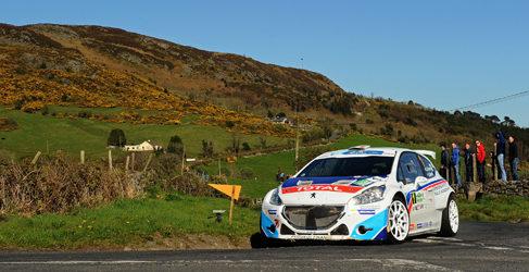 Lista de inscritos del Circuit of Ireland del ERC 2015