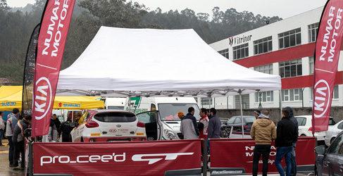 El Kia Pro_Cee'd GT quema etapas antes de llegar al CERA