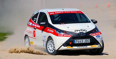 La Copa Kobe Motor invade Navarra con sus Toyota Aygo