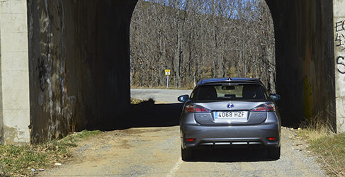 Prueba - Lexus CT200h, pasamos a la prueba