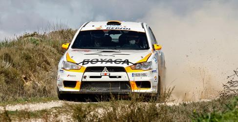 Protagonistas del I Rally Circuito de Navarra del CERT