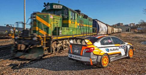 Conoce el nuevo Subaru WRX STi del Global Rallycross