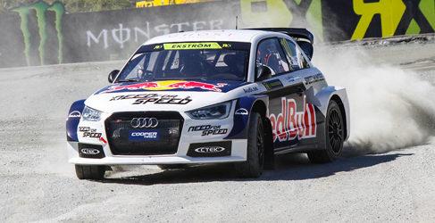 Mattias Ekström luchará por el título del World RX