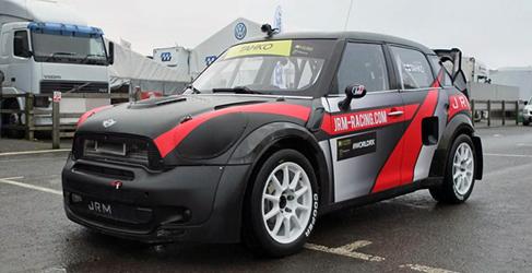 El Mini JCW RX de JRM Racing hará apariciones puntuales