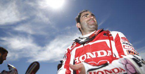 """Paulo Gonçalves: """"La filosofía de Honda es ganar carreras"""""""