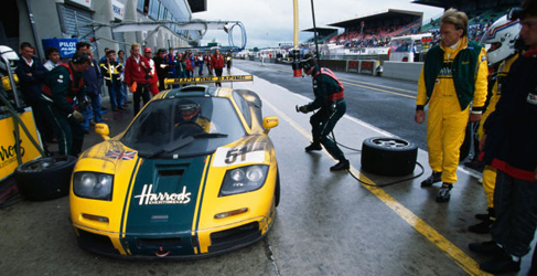 24h de Le Mans 1995: McLaren gana bajo el diluvio