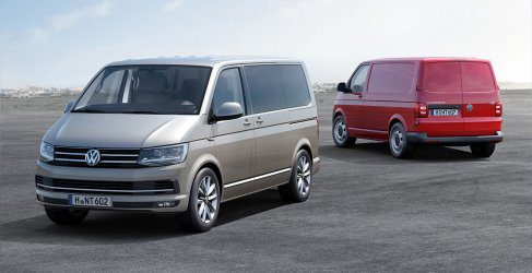 Seis generaciones de la Volkswagen Transporter
