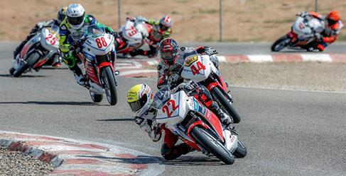 Joan Uviña se lleva la segunda cita de la Copa Honda CBR250R
