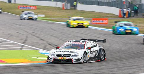 Green domina de principio a fin la primera carrera en Hockenheim