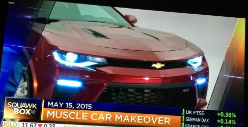 Filtrado al completo el nuevo Chevrolet Camaro 2016