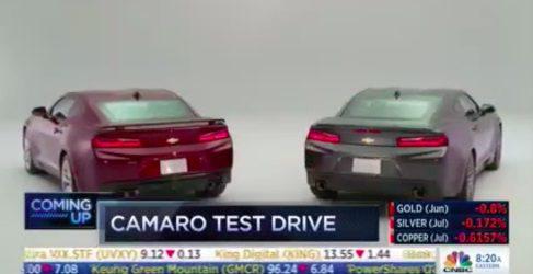 Todos los datos del nuevo Chevrolet Camaro 2016