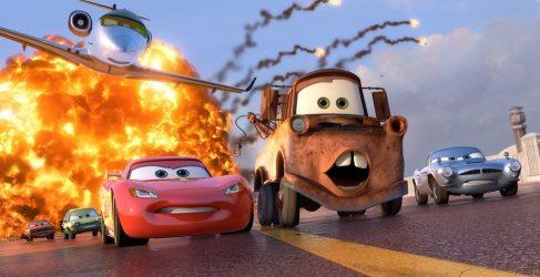 Trailer de 'A todo gas 7' con los personajes de 'Cars'