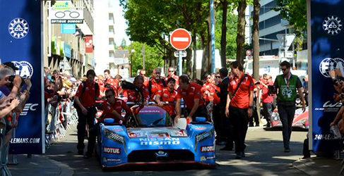 Días de verificaciones en Le Mans