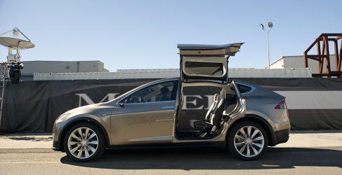 Tesla confirma el lanzamiento del Model X para otoño