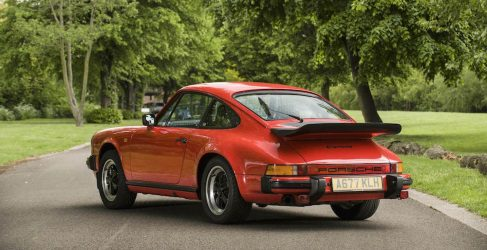 Bonhams subasta el Porsche 911 Carrera 3.2 de James May