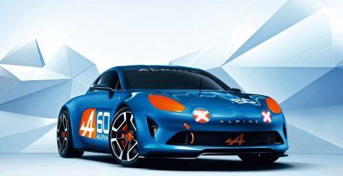 Renault presenta en Le Mans el Alpine celebration concept