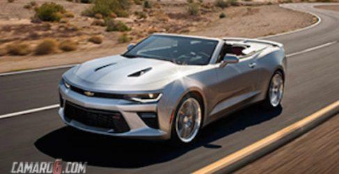 Filtrado el nuevo Chevrolet Camaro convertible 2016