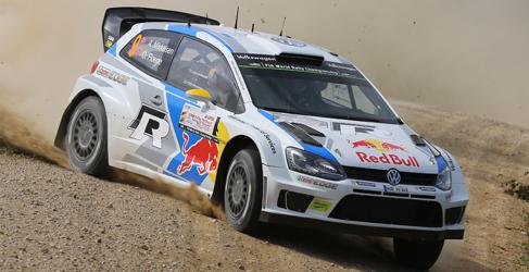 Ogier continúa yendo a por todas en el Rally de Polonia