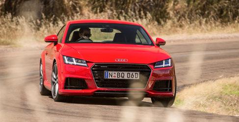 El Audi TT RS 2016, solo disponible con cambio S-Tronic