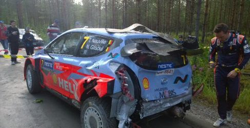 Rally de Finlandia 2015: un Shakedown muy movido