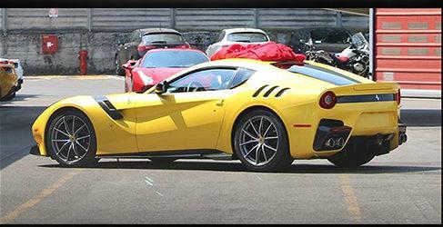 ¡Cazado! El nuevo Ferrari F12 GTO se desnuda ante los espías
