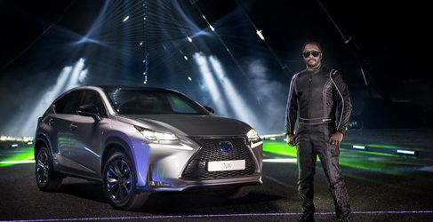 Will.I.Am y Lexus crean un espectáculo audiovisual