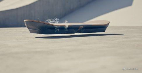 Los vídeos de las pruebas del Lexus Hoverboard