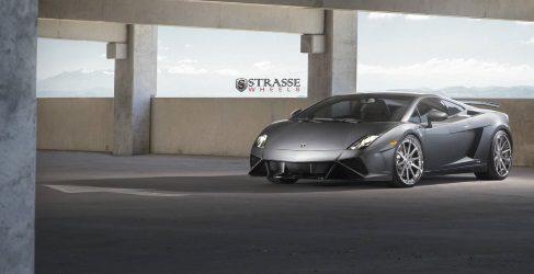 Lamborghini Gallardo LP560-4 en un raro gris metalizado
