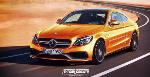Nuevo Mercedes-Benz Clase C coupe AMG C63 en render