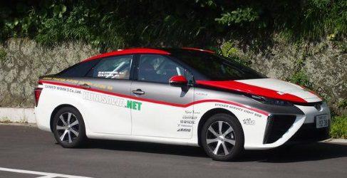 El nuevo Toyota Mirai se abre paso en el WRC de Alemania