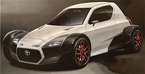 Un Toyota de ruedas descubiertas para Tokyo