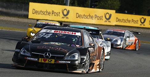 Mercedes AMG. Luces y sombras en la pista moscovita del DTM