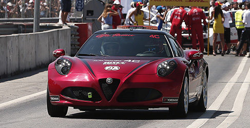 Alfa 4C Safety Car WTCC Bruno Correia Vila REal 2015