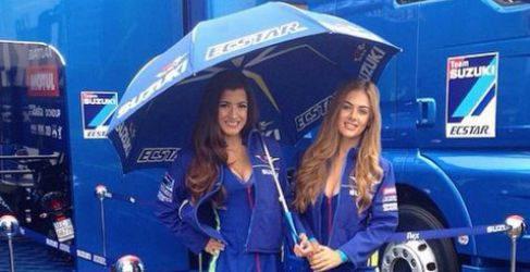Paddock Girls del GP de Gran Bretaña 2015