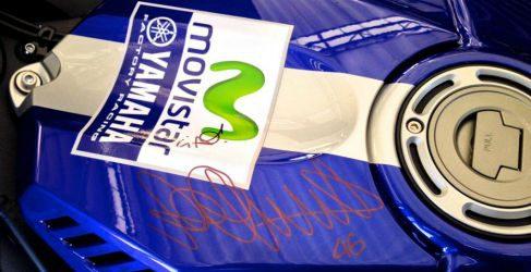 Se subasta una Yamaha YZF-R1 réplica de Valentino Rossi