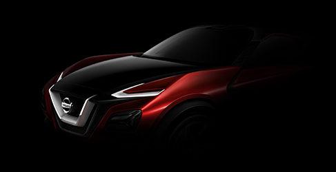 Nissan desvela las líneas de un crossover para Frankfurt