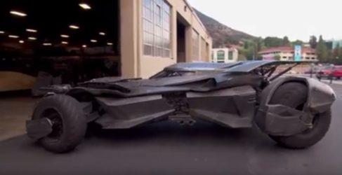 El nuevo batmobile de la última entrega de Batman