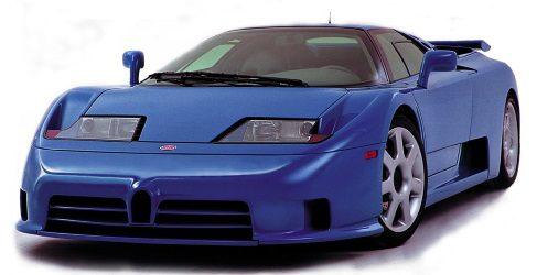 Magnífico reportaje en vídeo de la historia del Bugatti EB110